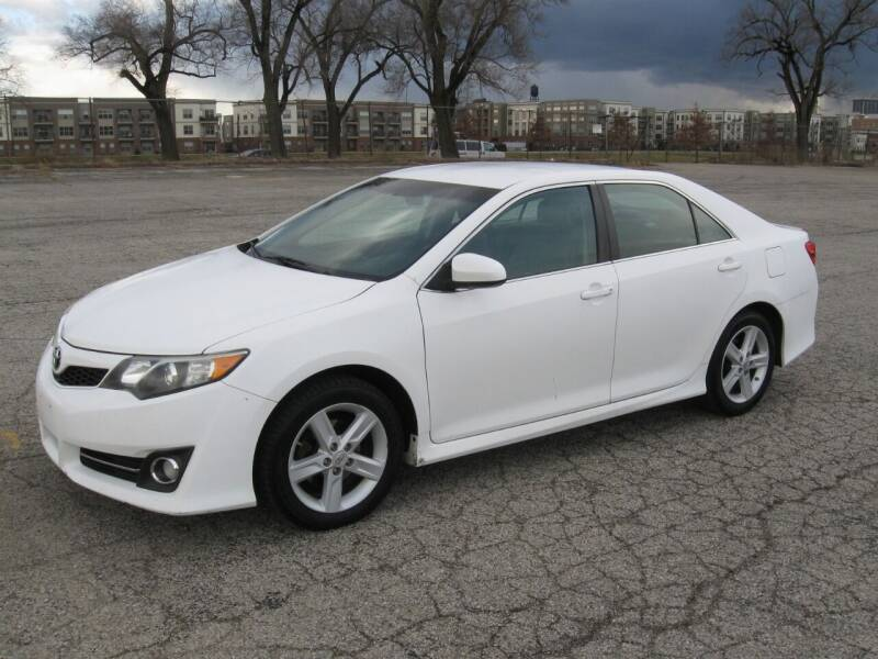 2012 Toyota Camry for sale at Burhill Leasing Corp. in Dayton OH