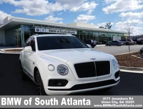 2019 Bentley Bentayga for sale at Carol Benner @ BMW of South Atlanta in Union City GA