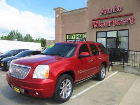 2012 GMC Yukon for sale at Auto Market in Oklahoma City OK