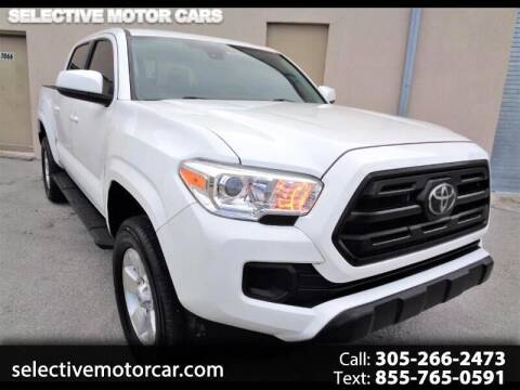 2018 Toyota Tacoma for sale at Selective Motor Cars in Miami FL
