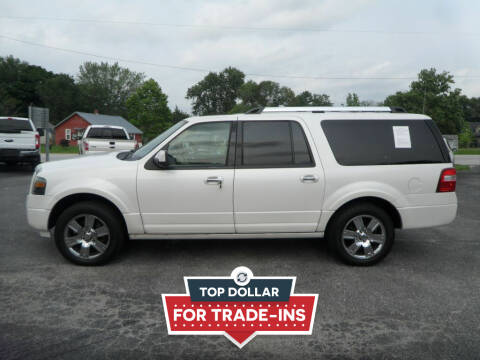 2010 Ford Expedition EL for sale at CARSON MOTORS in Cloverdale IN
