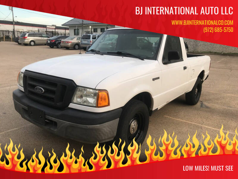 2005 Ford Ranger for sale at BJ International Auto LLC in Dallas TX
