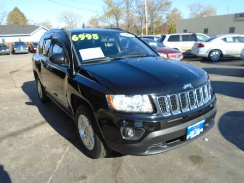 2013 Jeep Compass for sale at DISCOVER AUTO SALES in Racine WI