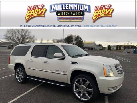 2007 Cadillac Escalade ESV for sale at Millennium Auto Sales in Kennewick WA