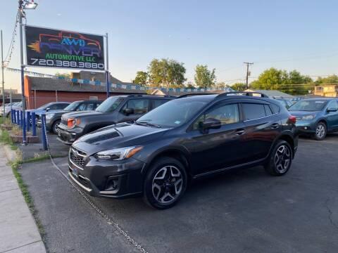 2019 Subaru Crosstrek for sale at AWD Denver Automotive LLC in Englewood CO
