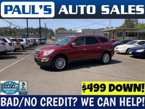 2012 Buick Enclave for sale at Paul's Auto Sales in Eugene OR