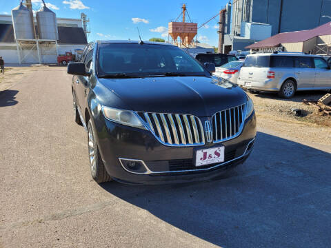 2011 Lincoln MKX for sale at J & S Auto Sales in Thompson ND