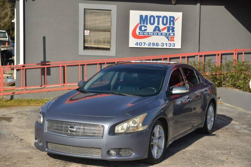 2010 Nissan Maxima for sale at Motor Car Concepts II - Kirkman Location in Orlando FL