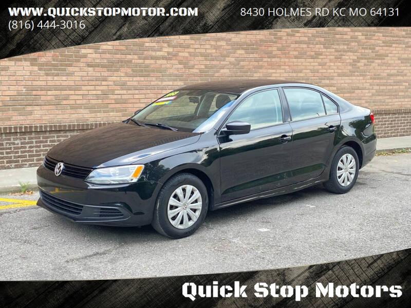 2013 Volkswagen Jetta for sale at Quick Stop Motors in Kansas City MO