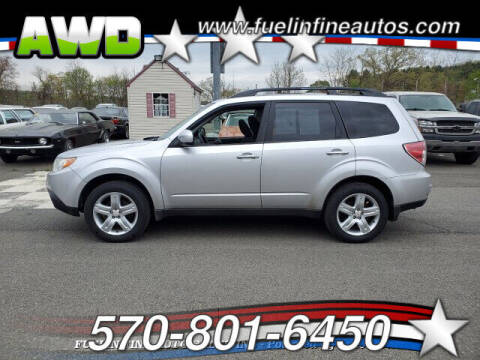 2009 Subaru Forester for sale at FUELIN FINE AUTO SALES INC in Saylorsburg PA