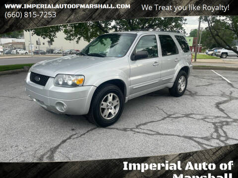 2005 Ford Escape for sale at Imperial Auto, LLC - Imperial Auto Of Slater in Slater MO
