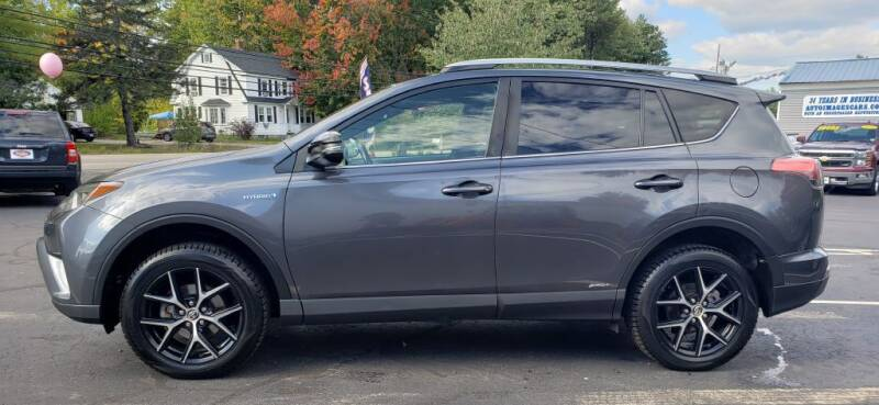 2018 Toyota RAV4 Hybrid for sale at Healey Auto in Rochester NH