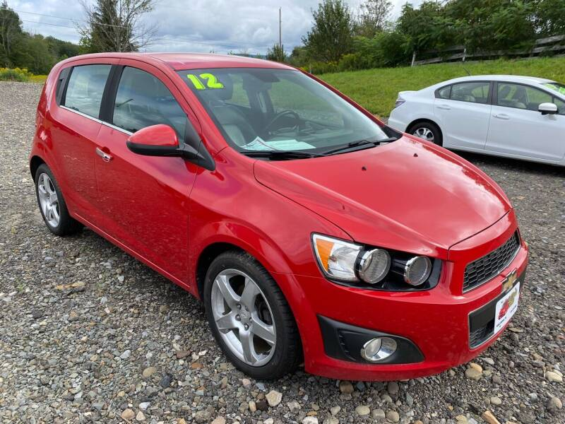 2012 Chevrolet Sonic for sale at ALL WHEELS DRIVEN in Wellsboro PA