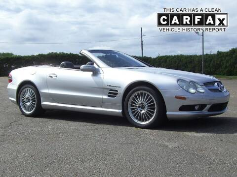 2004 Mercedes-Benz SL-Class for sale at Atlantic Car Company in East Windsor CT