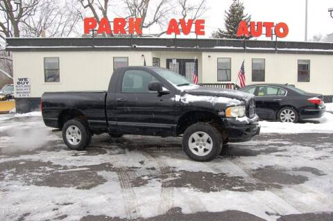 2004 Dodge Ram Pickup 1500 for sale at Park Ave Auto Inc. in Worcester MA