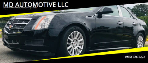 2011 Cadillac CTS for sale at MD AUTOMOTIVE LLC in Slidell LA