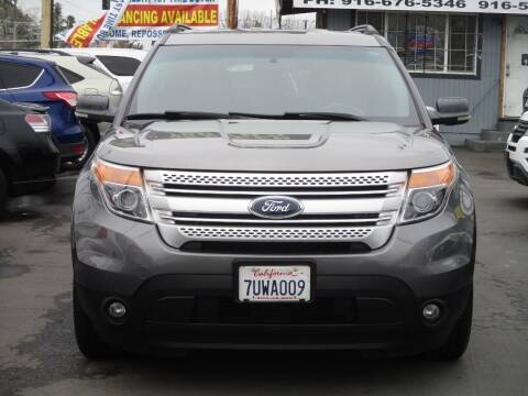 2012 Ford Explorer for sale at General Auto Sales Corp in Sacramento CA