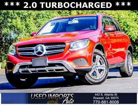 2018 Mercedes-Benz GLC for sale at Used Imports Auto in Roswell GA