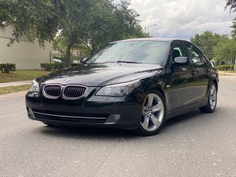 2008 BMW 5 Series for sale at Presidents Cars LLC in Orlando FL