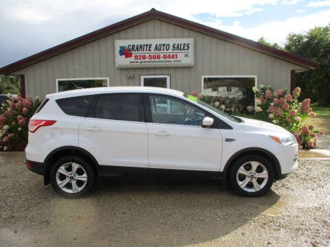 2014 Ford Escape for sale at Granite Auto Sales in Redgranite WI