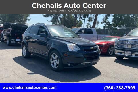 2014 Chevrolet Captiva Sport for sale at Chehalis Auto Center in Chehalis WA