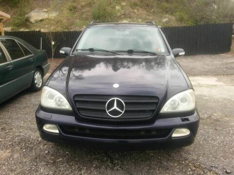 2004 Mercedes-Benz M-Class for sale at Riverside Auto Sales in Saint Albans WV