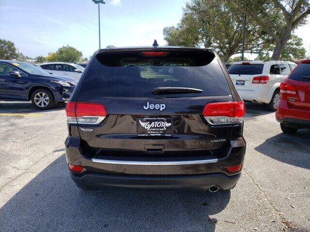 2017 Jeep Grand Cherokee 4x2 Limited 4dr SUV - Melbourne FL