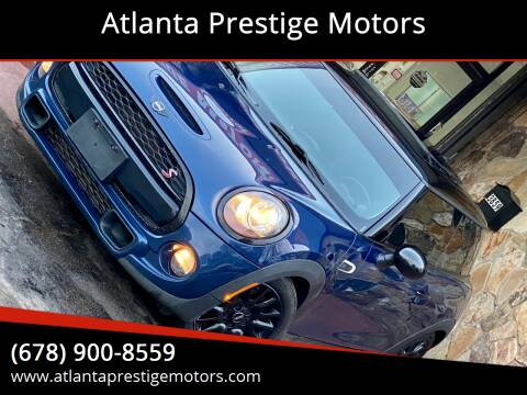 2017 MINI Hardtop 2 Door for sale at Atlanta Prestige Motors in Decatur GA