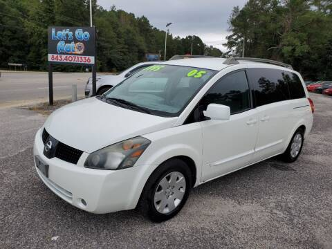 2005 Nissan Quest for sale at Let's Go Auto in Florence SC