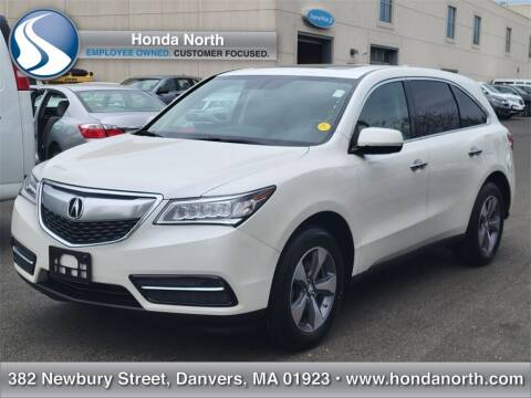 2016 Acura MDX for sale at 1 North Preowned in Danvers MA
