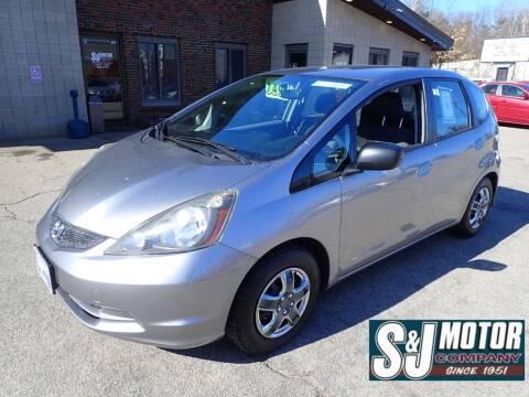 2010 Honda Fit for sale at S & J Motor Co Inc. in Merrimack NH