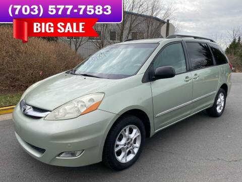 2006 Toyota Sienna for sale at Dreams Auto Group LLC in Sterling VA