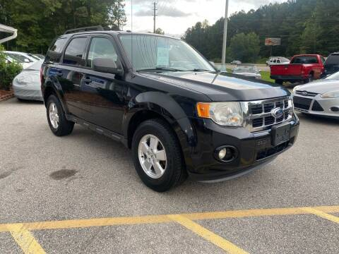 2012 Ford Escape for sale at Galaxy Auto Sale in Fuquay Varina NC