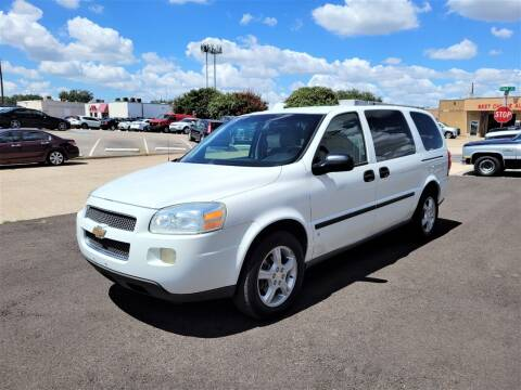 2006 Chevrolet Uplander for sale at Image Auto Sales in Dallas TX