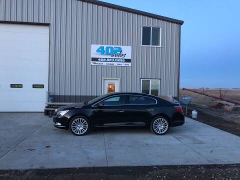 2014 Buick LaCrosse for sale at 402 Autos in Lindsay NE