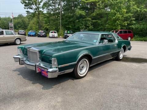 1976 Lincoln Continental for sale at North Berwick Auto Center in Berwick ME
