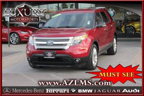 2015 Ford Explorer for sale at Luxury Motorsports in Phoenix AZ