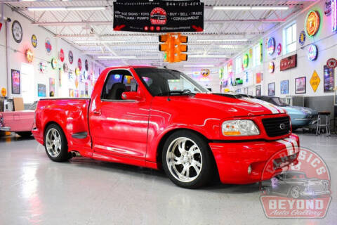 2002 Ford F-150 SVT Lightning for sale at Classics and Beyond Auto Gallery in Wayne MI