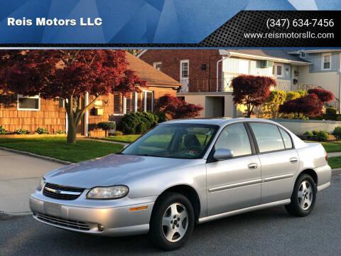 2003 Chevrolet Malibu for sale at Reis Motors LLC in Lawrence NY