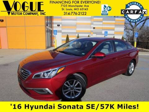 2016 Hyundai Sonata for sale at Vogue Motor Company Inc in Saint Louis MO