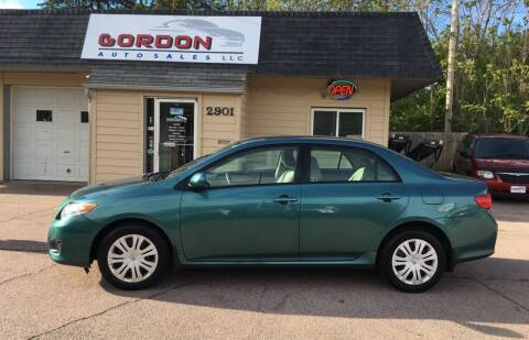 2009 Toyota Corolla for sale at Gordon Auto Sales LLC in Sioux City IA