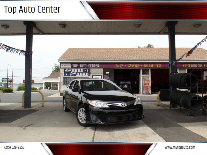 2013 Toyota Camry for sale at Top Auto Center in Quakertown PA