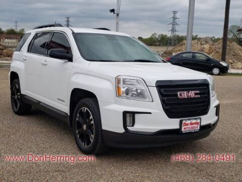 2017 GMC Terrain for sale at Don Herring Mitsubishi in Dallas TX