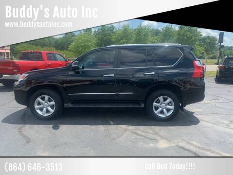 2011 Lexus GX 460 for sale at Buddy's Auto Inc in Pendleton, SC