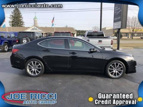 2017 Acura TLX for sale at Mr Intellectual Cars in Shelby Township MI