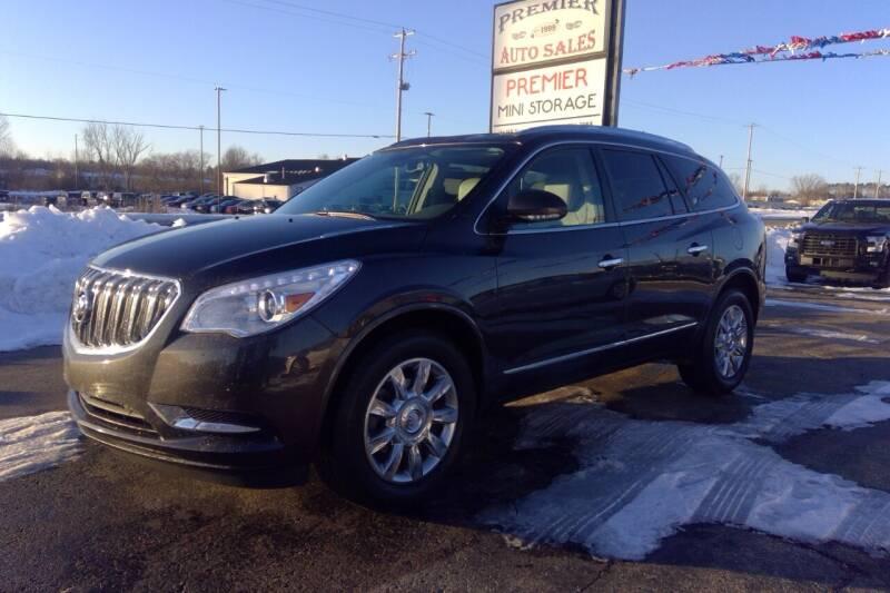 2014 Buick Enclave for sale at Premier Auto Sales Inc. in Big Rapids MI