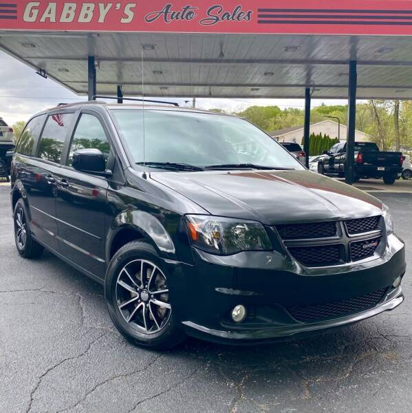 2016 Dodge Grand Caravan for sale at GABBY'S AUTO SALES in Valparaiso IN