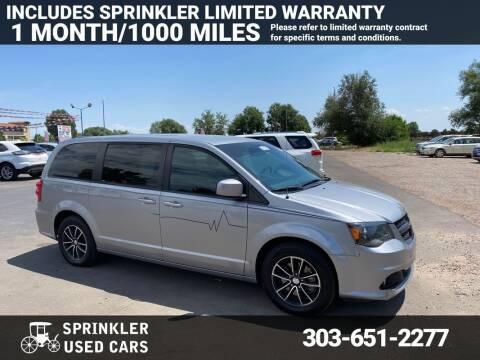 2018 Dodge Grand Caravan for sale at Sprinkler Used Cars in Longmont CO