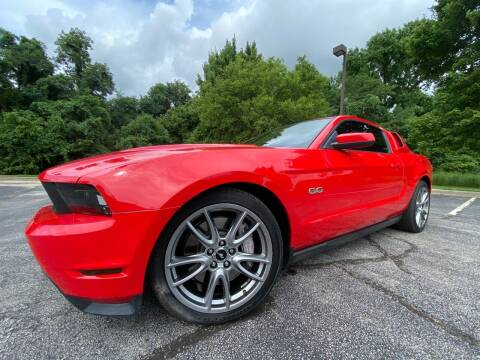 2012 Ford Mustang for sale at Tennessee Valley Wholesale Autos LLC in Huntsville AL