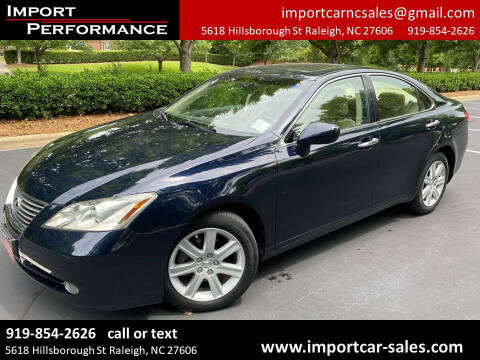 2009 Lexus ES 350 for sale at Import Performance Sales in Raleigh NC